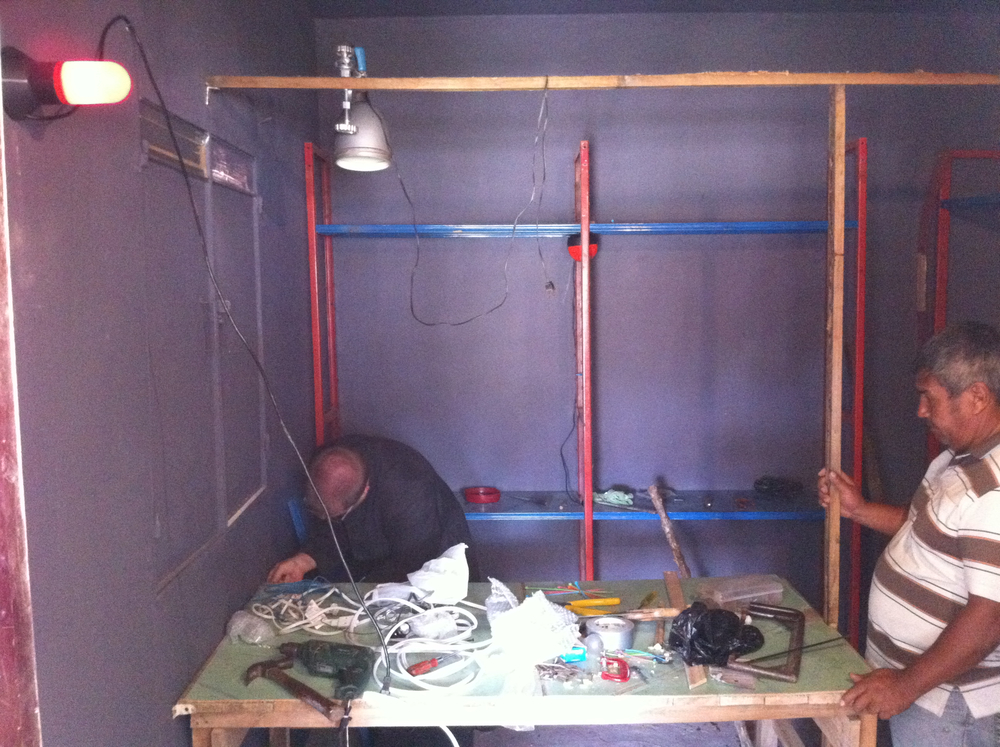 day 3-shelves and electricity