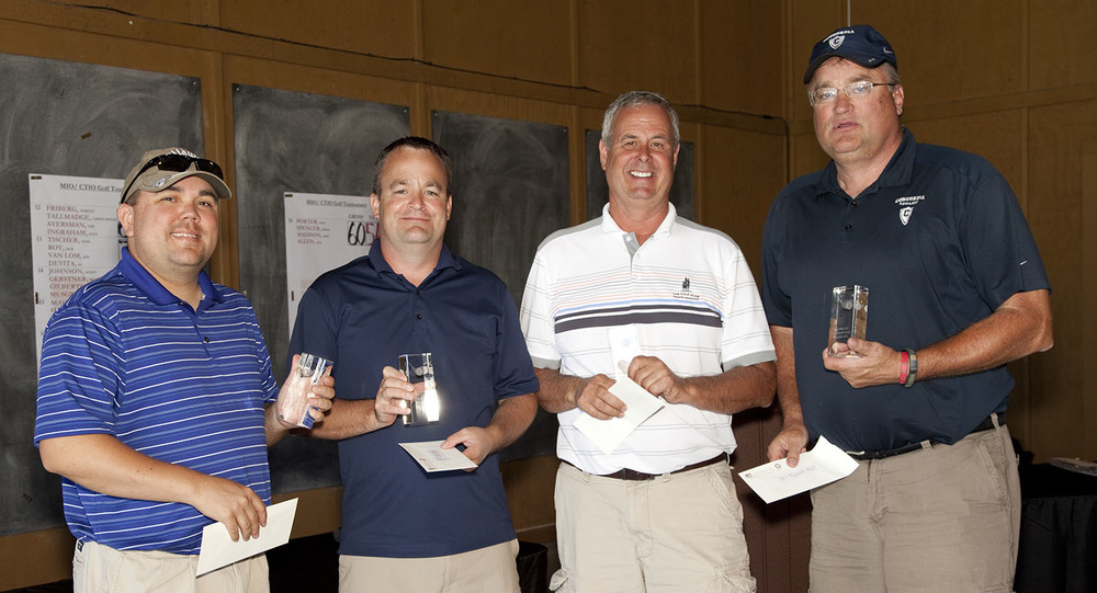 2nd Place Team Low Gross