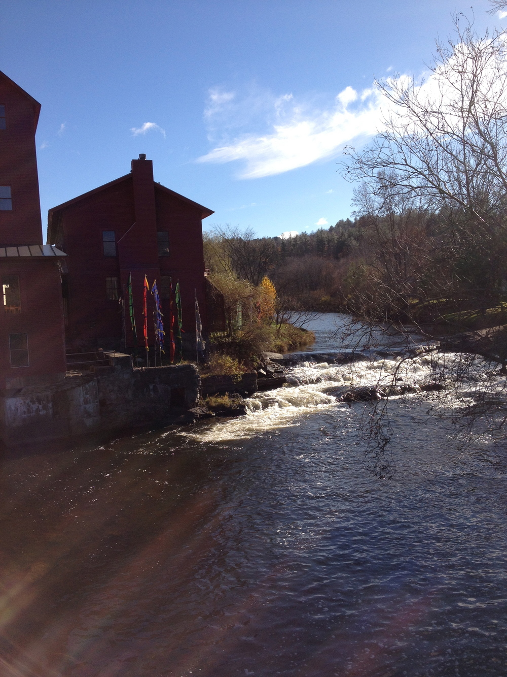 View of the Red Mill