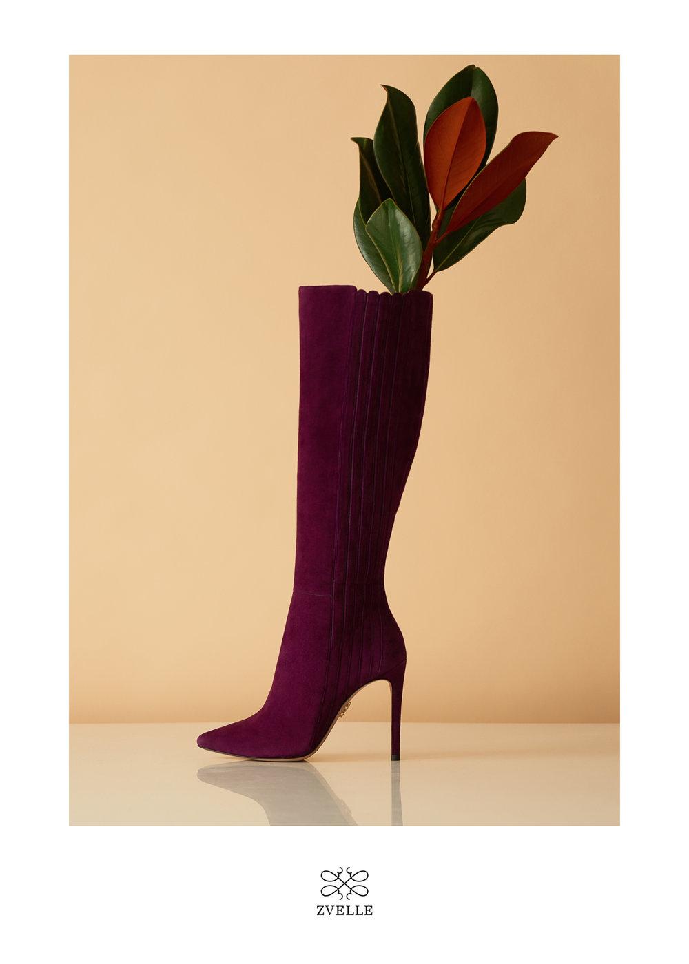 Zvelle Shoes Campaign