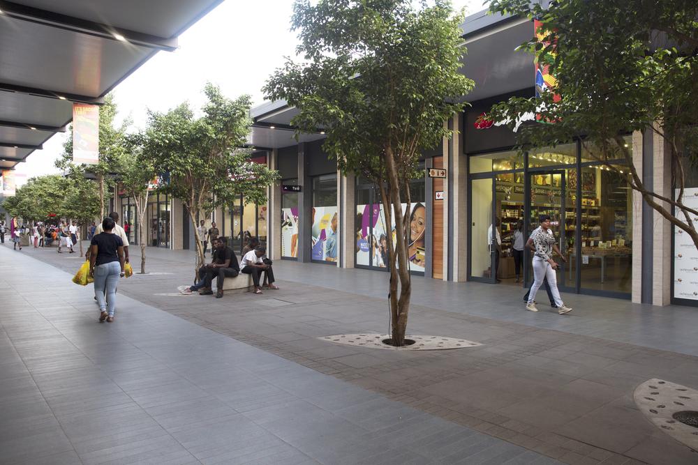 The Achimota mall.