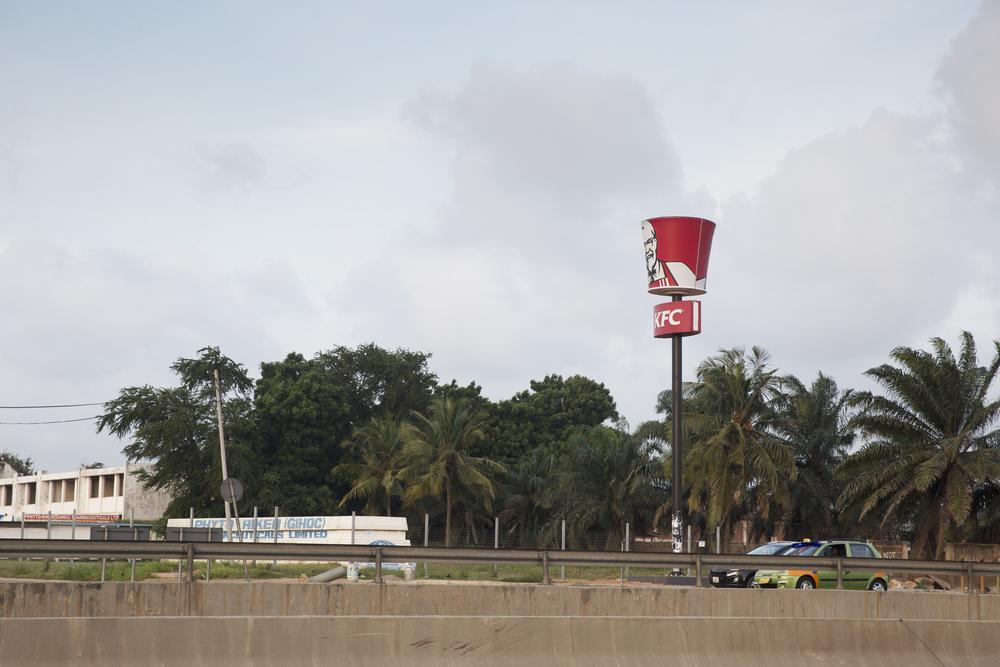 The fabulous Ghanaian KFC.