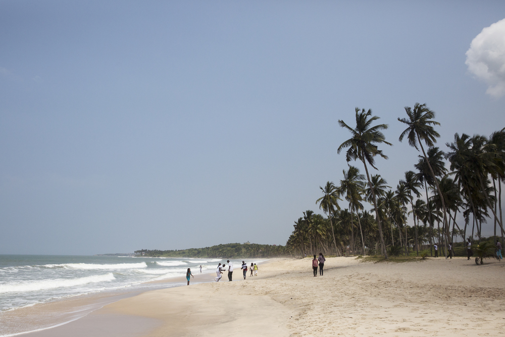 The beautiful beach!