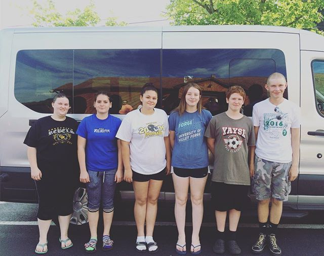 Valley Forge here we come. #pursuityouth #missionstrip