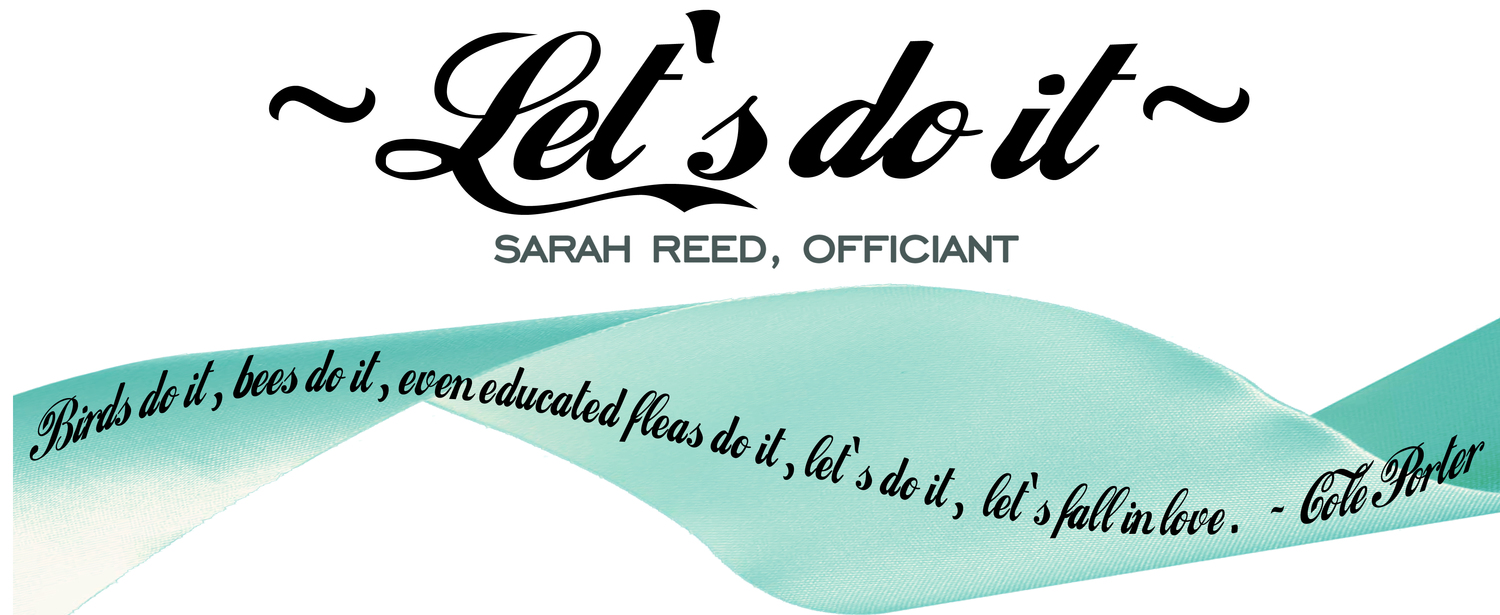 Let's Do It: Sarah Reed, Austin Wedding Officiant / Celebrant