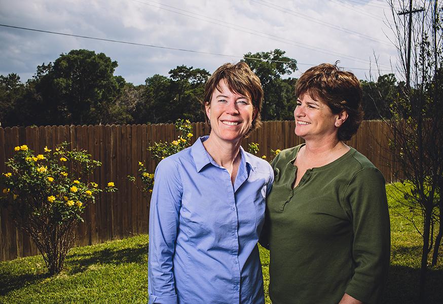 Lisa Daly and Cara Boyd, October brides