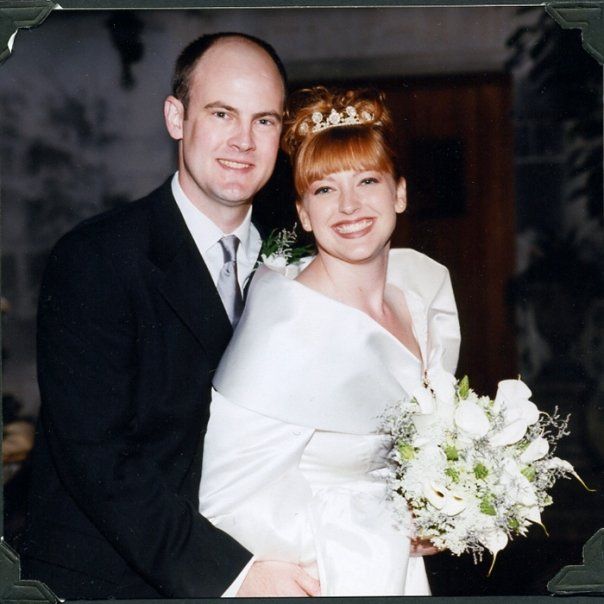 Me and my hubs on our big day in 2000.