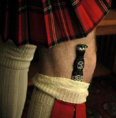For more info about the Sgian-dubh,  click here .