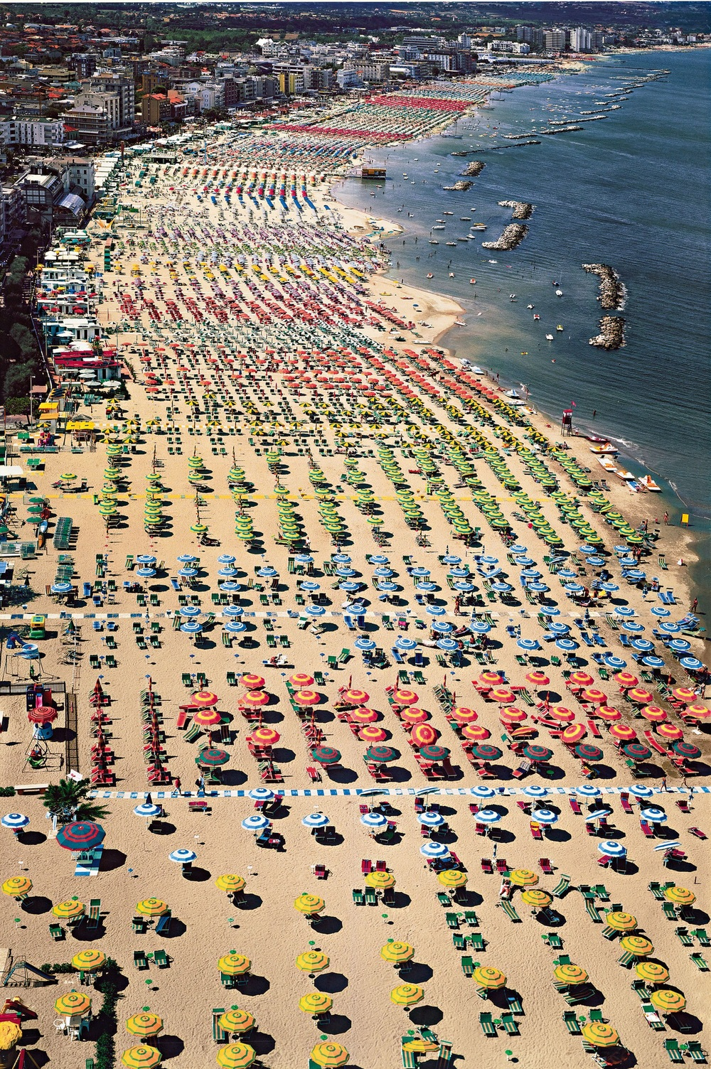 Rimini   2003  C-print mounted on Plexiglas   298 x 207 cm