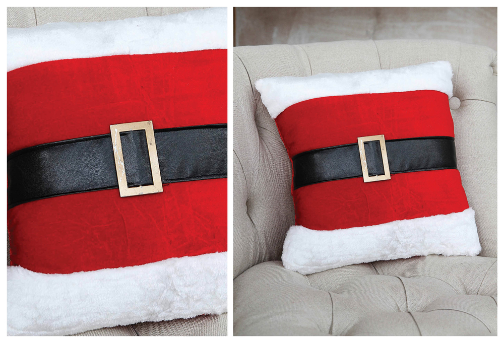 Jolly Ol' Santa Belt Pillow