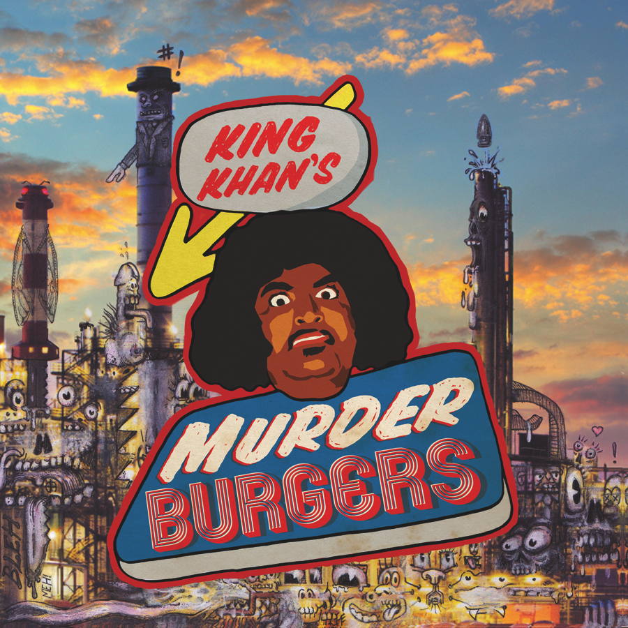 "going for adds 10/3 king khan ""murderburgers"" [ernest jenning/Khannibalism]"