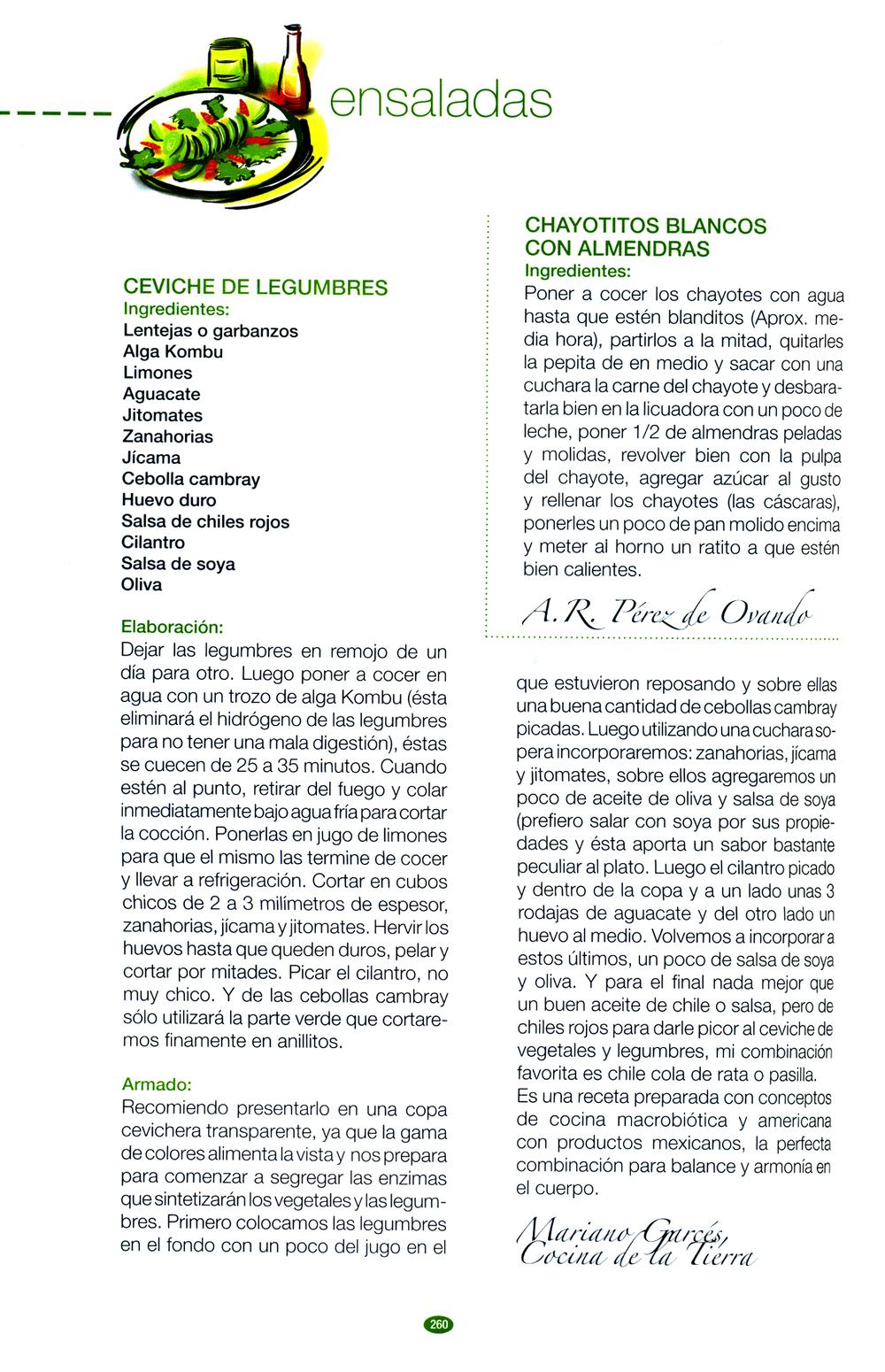 Libro: Personalidades en la Cocina