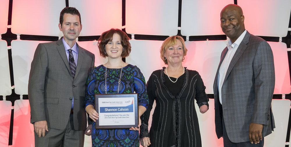 From left to right: Tim McAlpine, Shannon Cahoon, Deedee Myers and John Pembroke