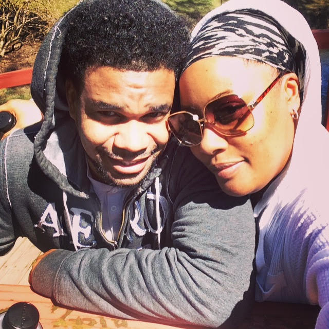 (L to R) Manager/husband Kareem alongside Entrepreneur/Artist/Wife Alicia