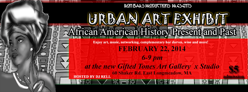 urban art exhibit flyer designed by alicia m walter