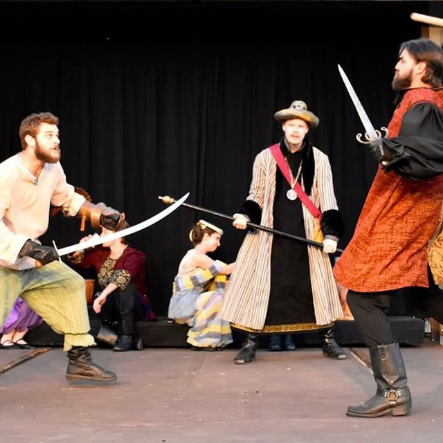 #FTEFightNight! Tonight! 8pm. #OakMeadowPark. We're fighting for #Shakespeare! #theatre #fundraiser #fteshakes