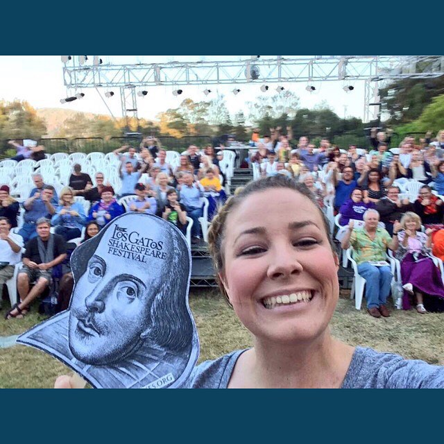 #tbt to opening night #shakespeareselfie a few weeks ago! Can't believe closing weekend starts tonight!