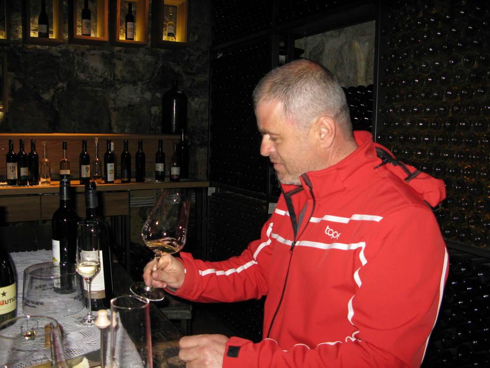 Slovenian winemaker Milan Hlebec