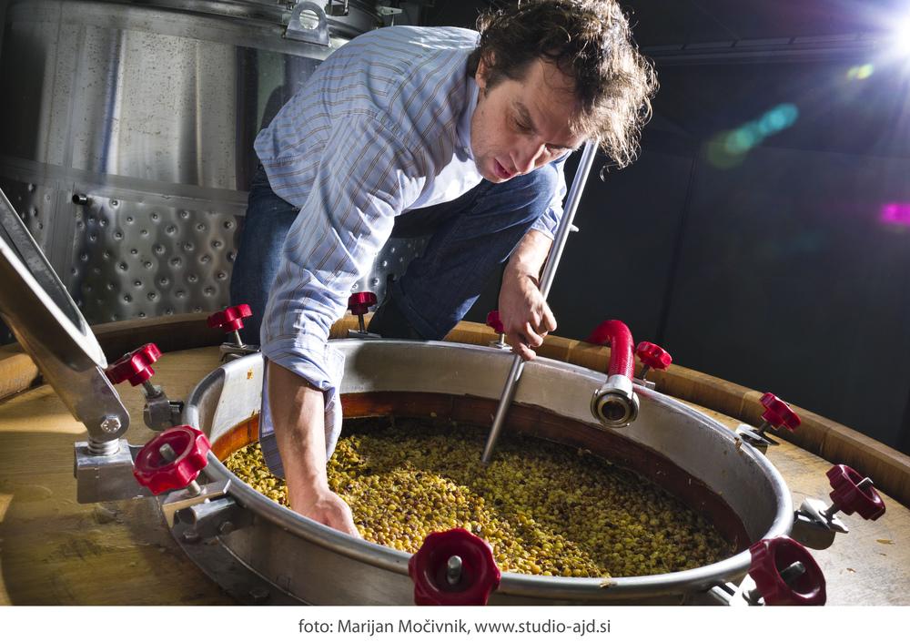 Slovenian winemaker Primož Lavrenčič