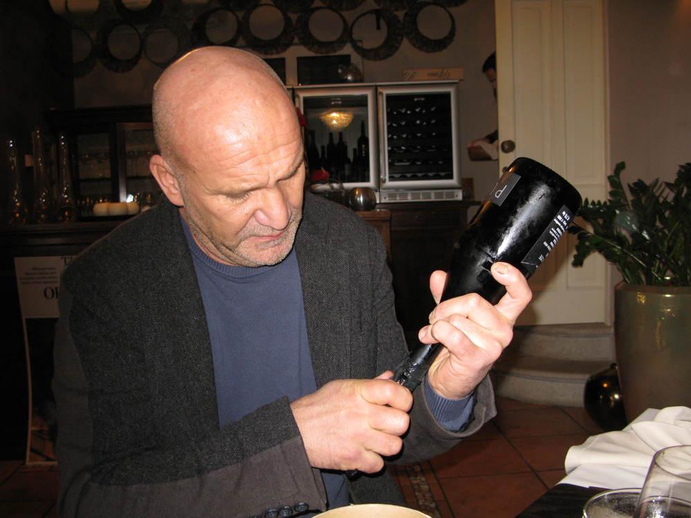 Slovenian winemaker Aleš Kristančič
