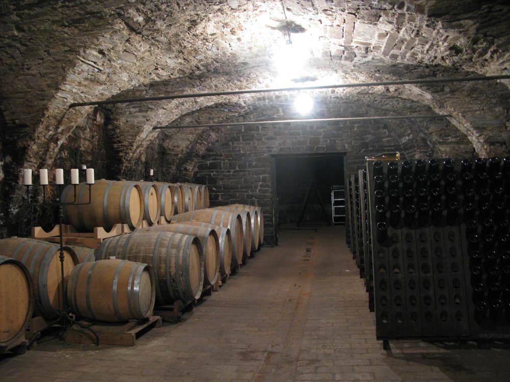 The cellar at Bjana