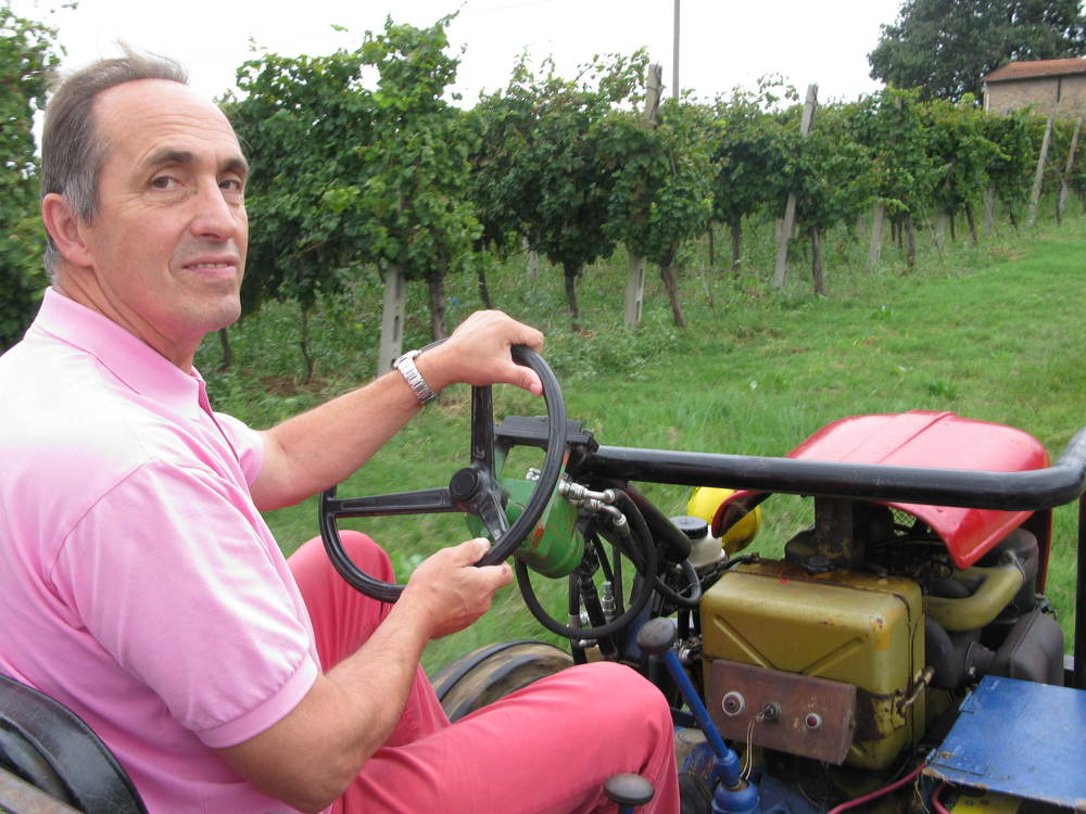 Luciano Monti has been working the vineyards since he was 14