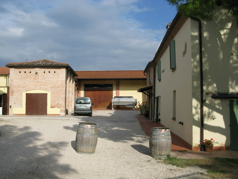 The winery at La Sabbiona