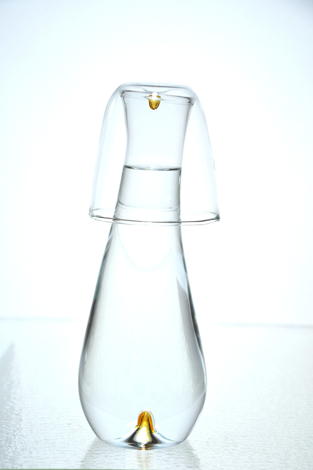 Why shouldn't your water glass and carafe be as beautiful as your wine glasses and decanter?