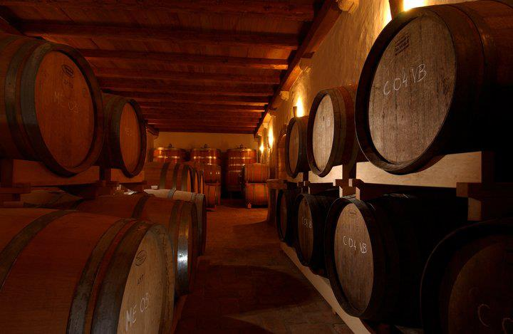 Kabola's barrel room