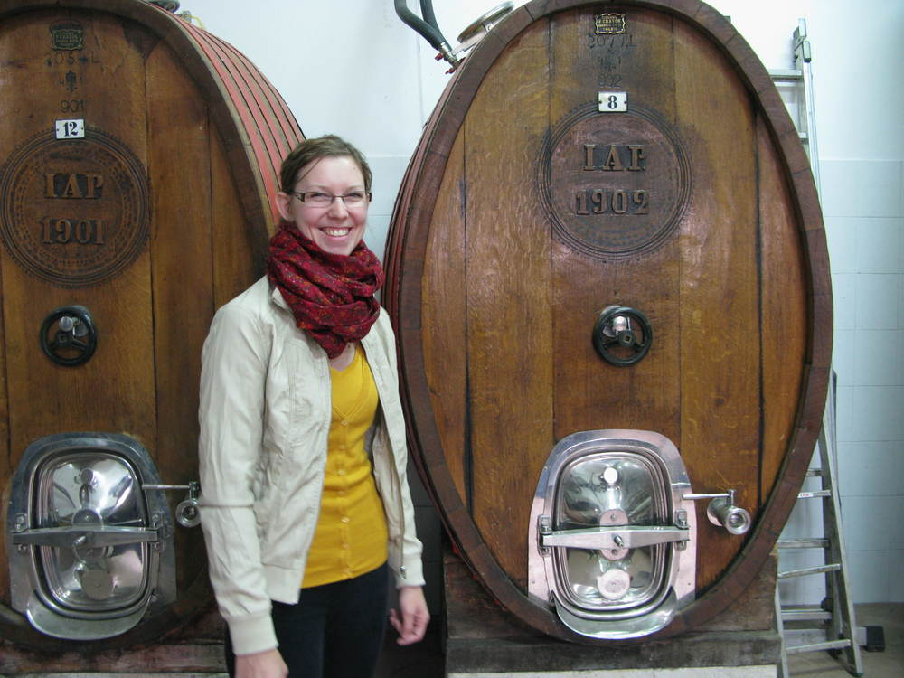 Ana Peršurić and her sister, and Katerina, make Croatia's finest sparkling wines under the Misal brand