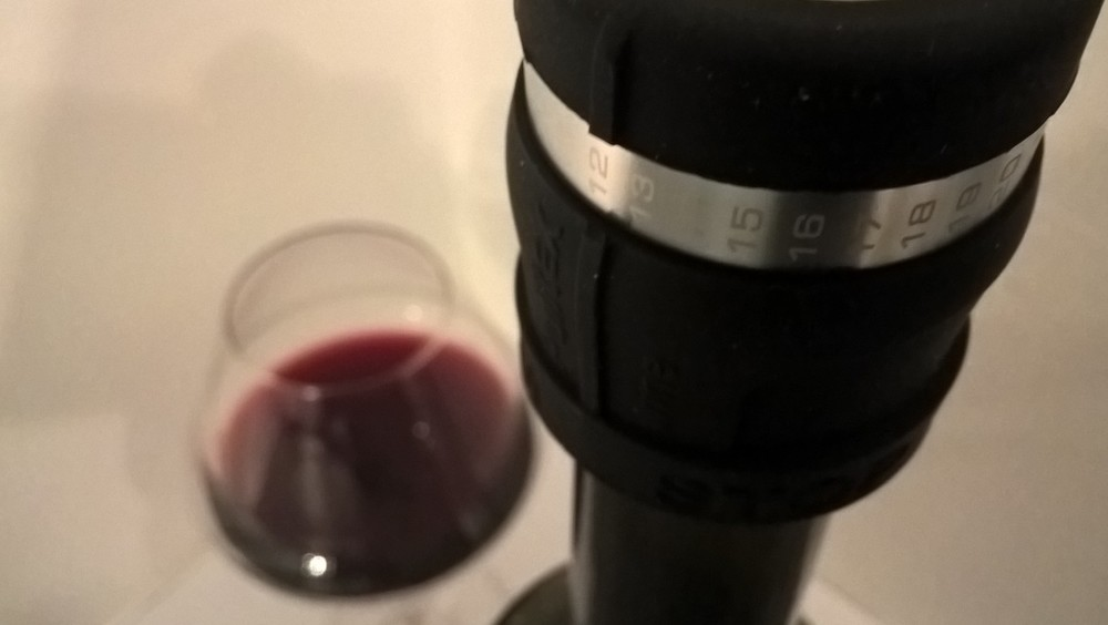 In our humble opinion, this silicone wine saver works better than a pump (and requires less effort)