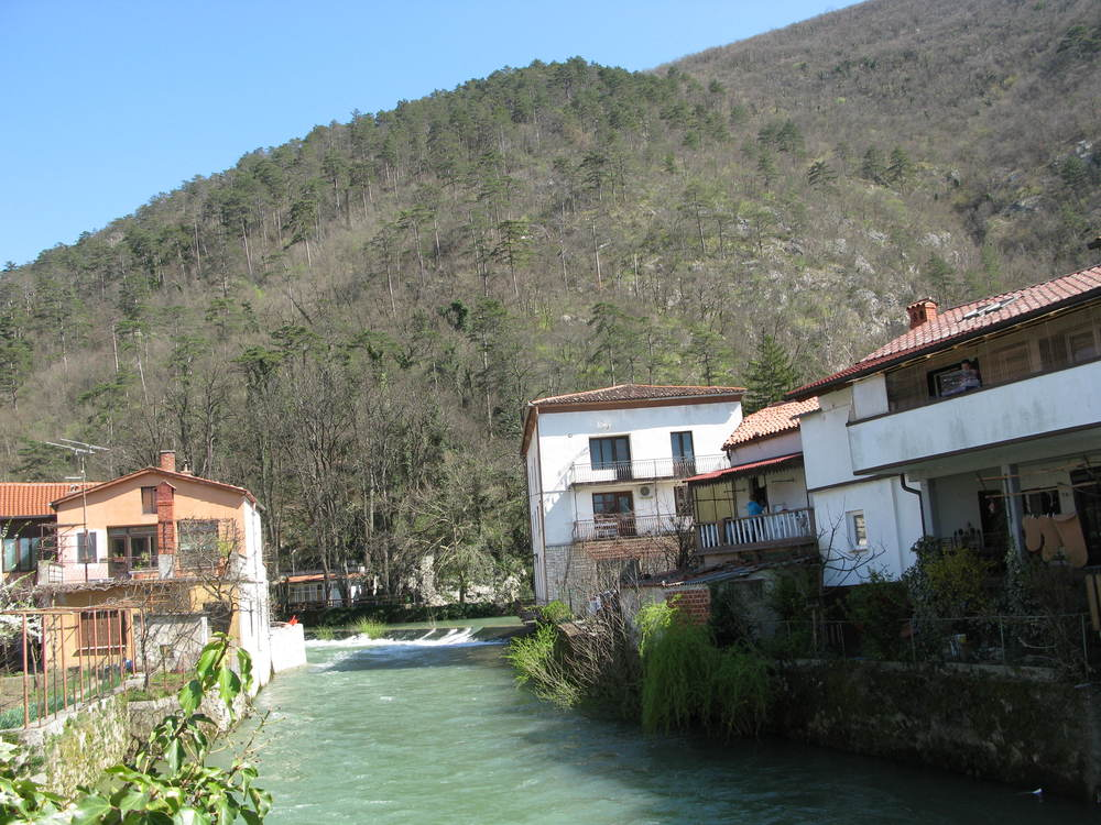 Vipava is a pretty little town and the Tourist Information Centre is a good place to start your tour