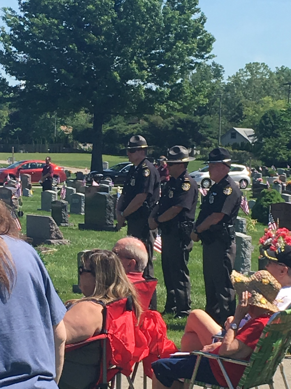 Memorial Day Ceremony 2016-Blendon Officers