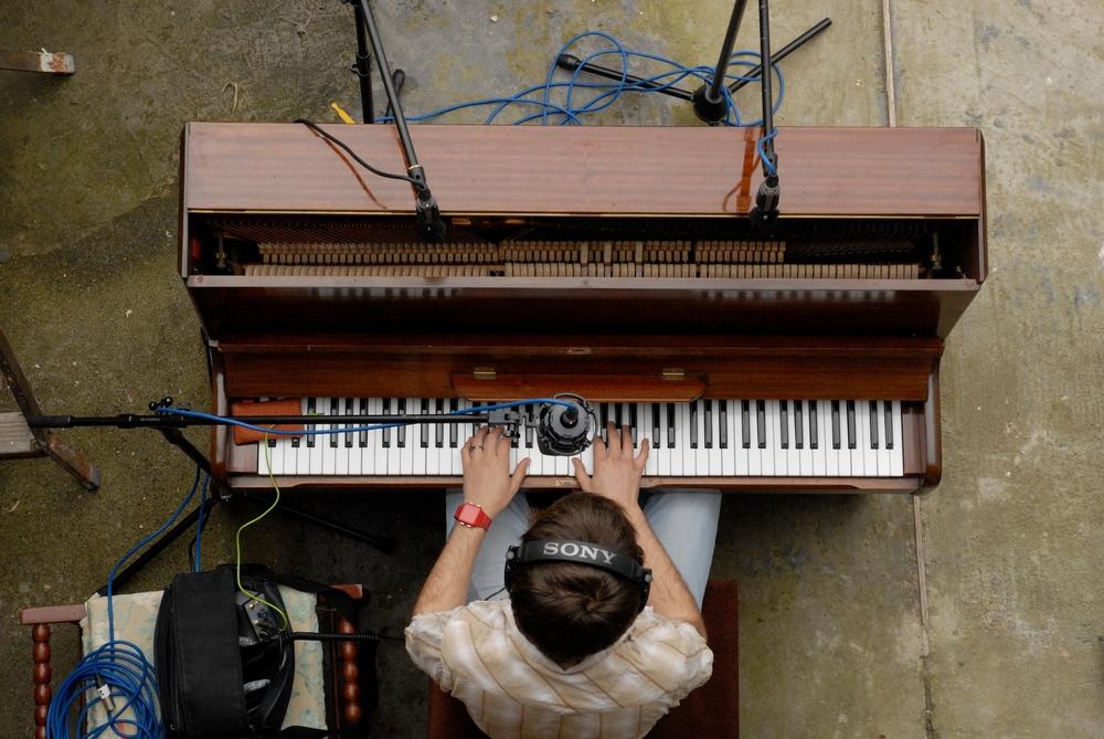 Piano recording