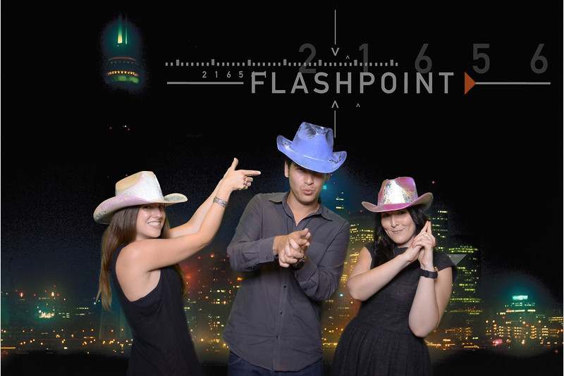 Photographic output for Flashpoint wrap party