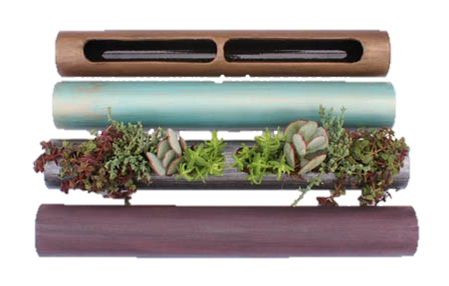 A Few Color Options for the Succulent Cylinders