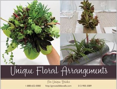Unique Floral Arrangements for Unique Brides