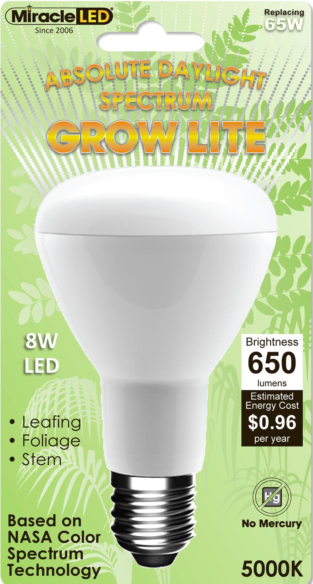 Daylight Led Bulbs: MiracleLED Daylight Spectrum Grow Light Bulb