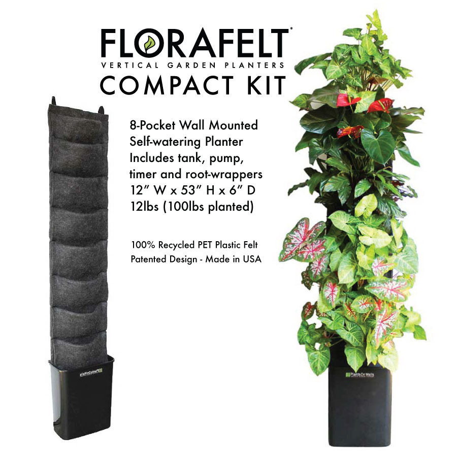 Complete Vertical Gardening Kits