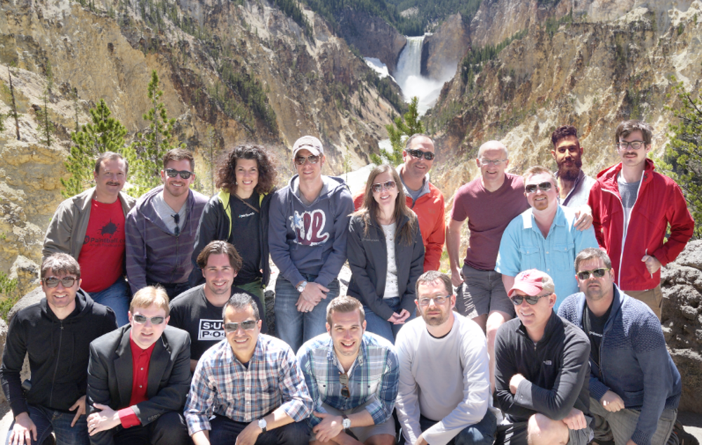 From the PipelineDeals Summit in 2014 atYellowstone National Park