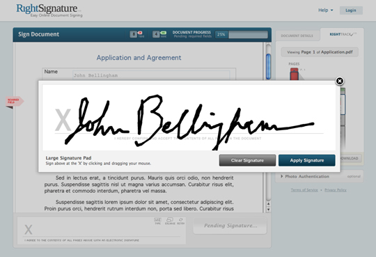 e-Signature tools make signing contracts easy and help you follow-up to close more deals.