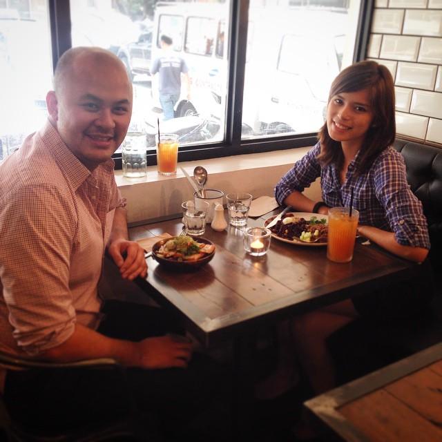 Natasha and Paul Rivera, CEO of Kalibrr