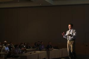 Craig Elias speaking at Accelerate Sales