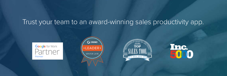 Social proof like the awards above help you differentiate yourself from your competitors.
