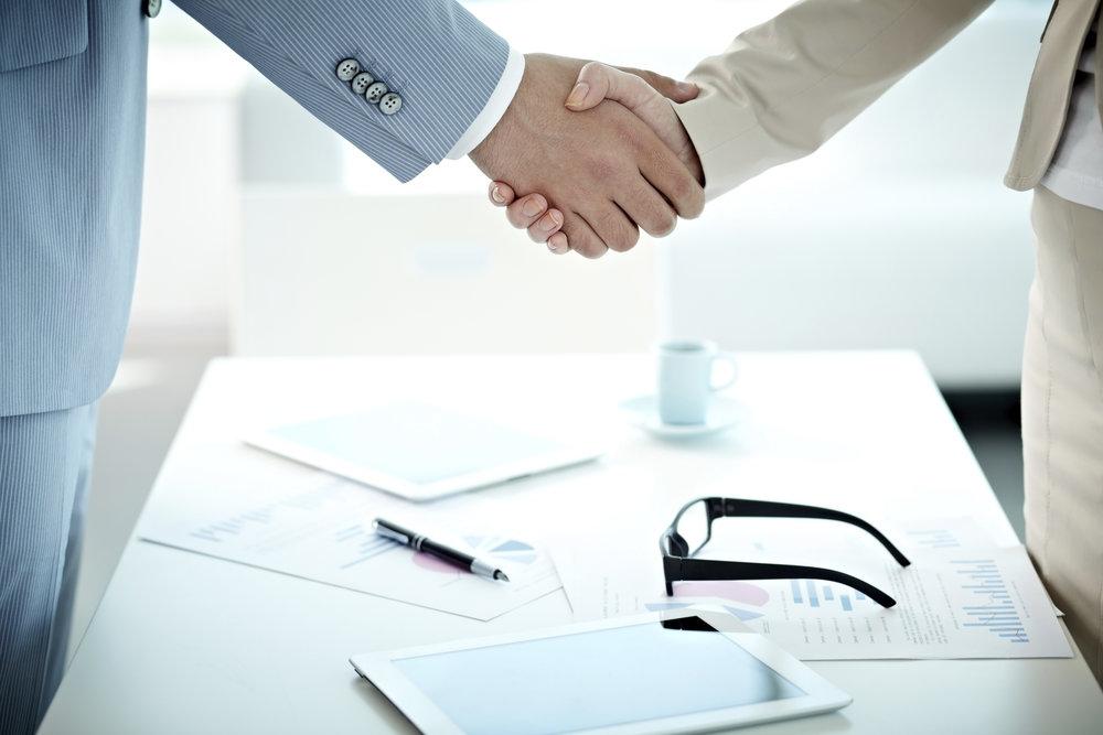 Success in sales means building trust.