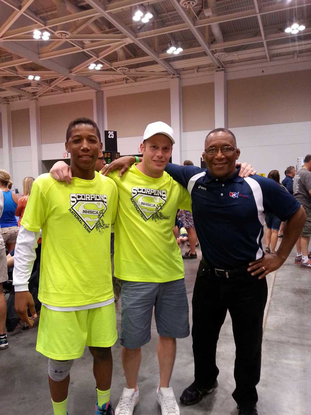 David Carr and his Father, Nate Carr. Nate is an Olympic Bronze Medalist and a 3x NCAA D1 National Champion.
