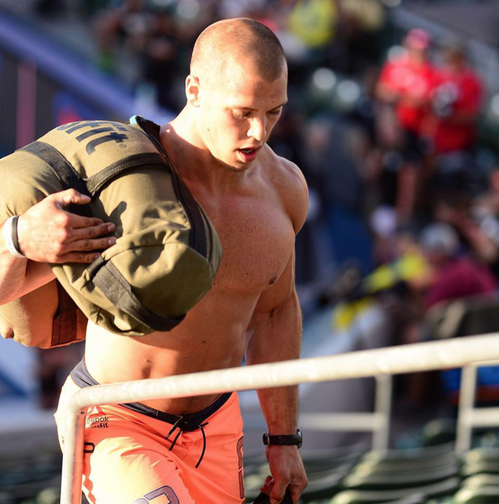Cole Sager during the 2015 CrossFit Games - Nikon 70-200 - Copyright CrossFit Inc, 2016, all rights reserved