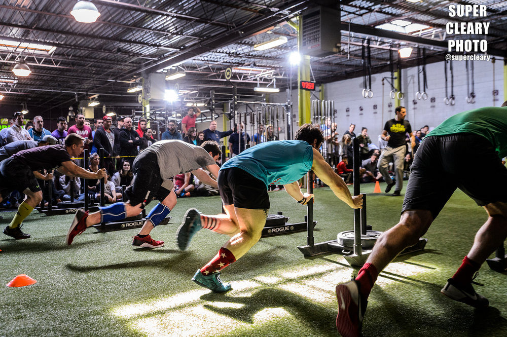 CrossFit Garden City Partner Competition - shot for  CFGC