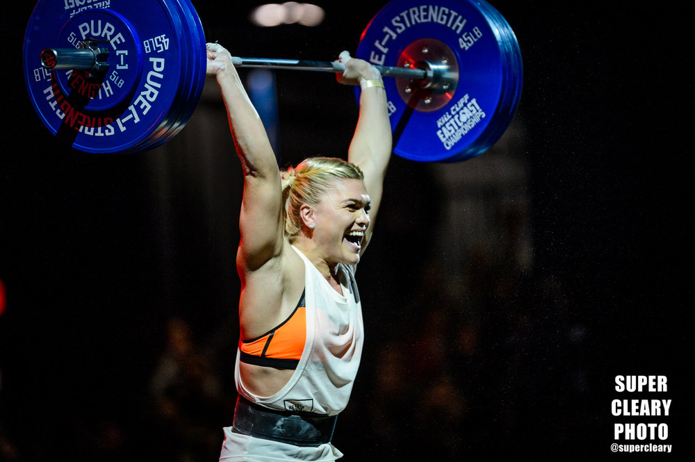 Katrin Davidsdottir - Shot for East Coast Championship