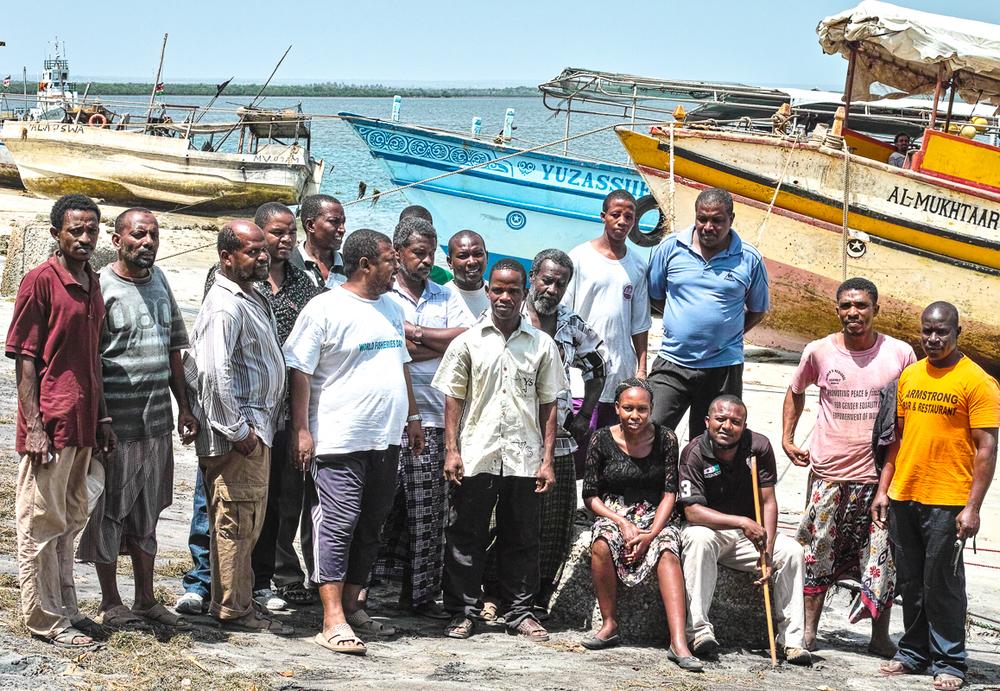 Community meeting in Ngomeni, Kenya organised by CANCO/CFFA, January 2015.